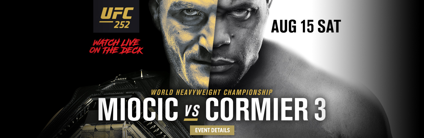 UFC 252 (HPB)