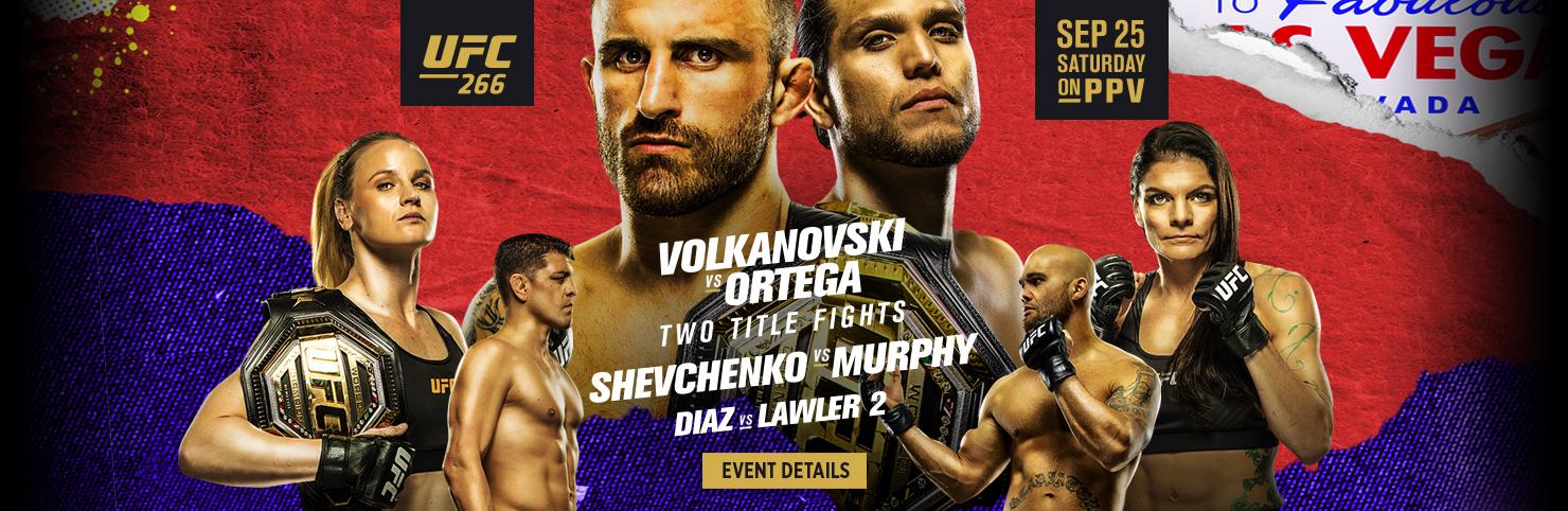 UFC 266 (HPB)