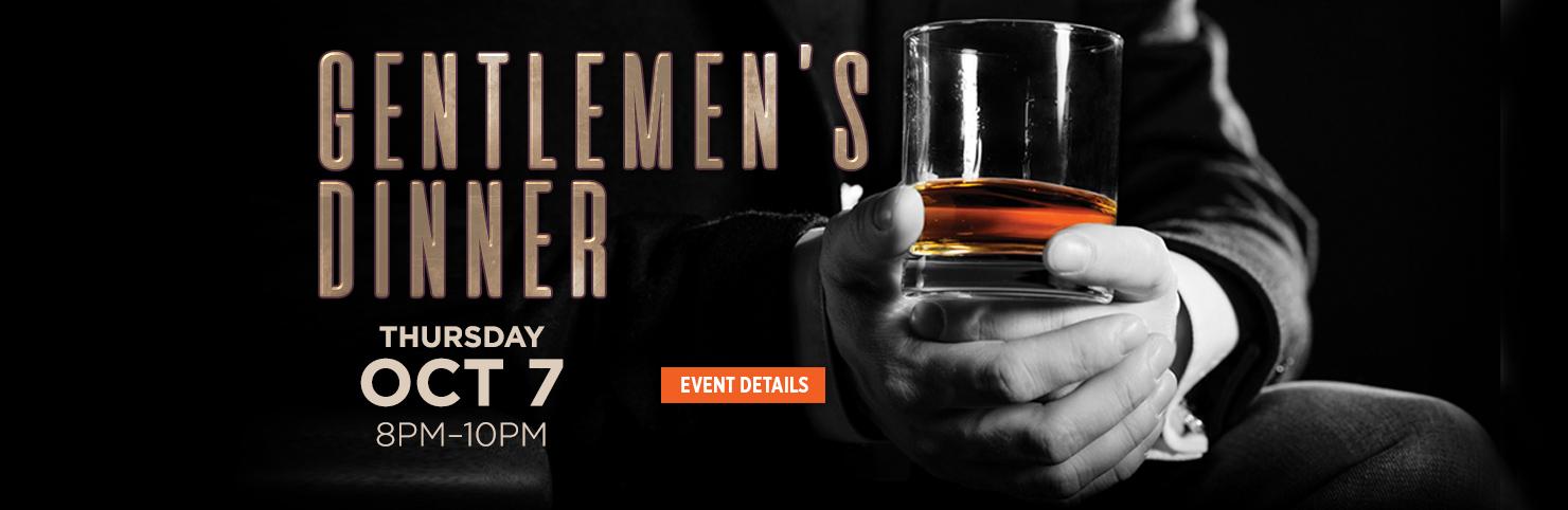Gentlemen's Dinner (HPB)