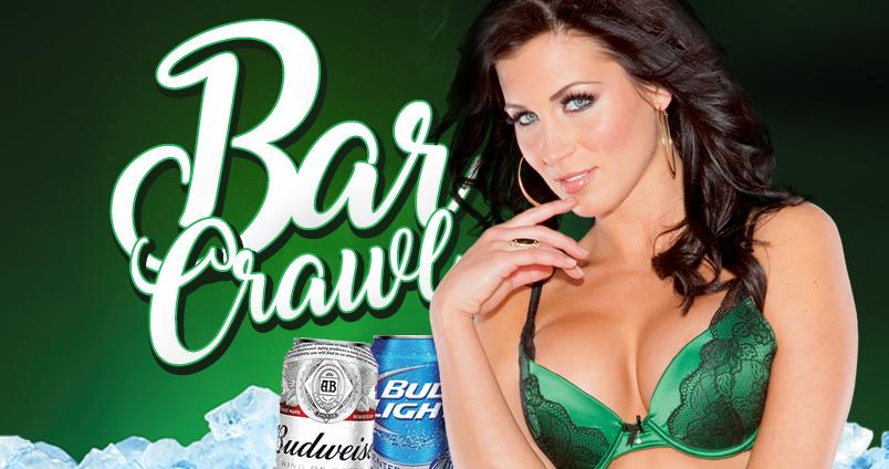 Bar Crawl at Cheerleaders Club