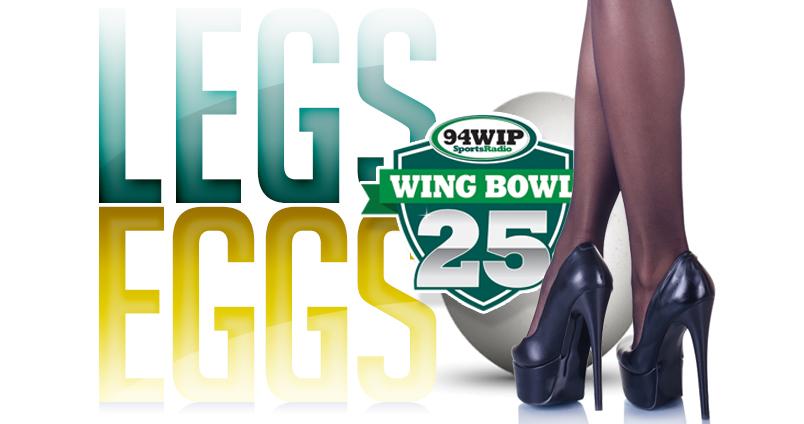 Legs & Eggs at Cheerleaders Club