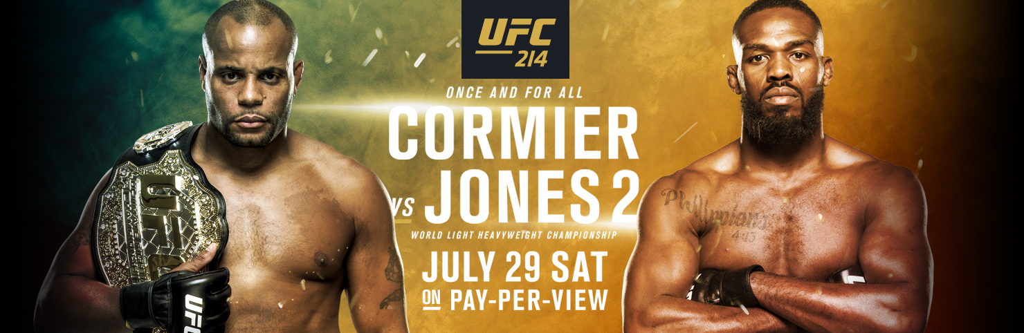 UFC 214 at Cheerleaders New Jersey