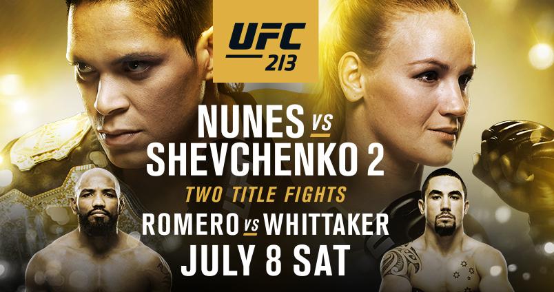 UFC 213 at Cheerleaders Club