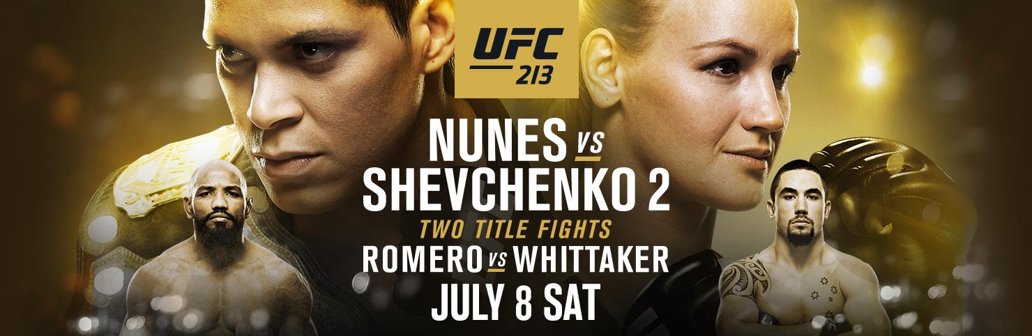 UFC 213 at Cheerleaders New Jersey