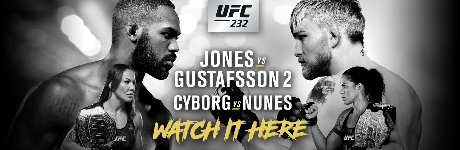 UFC 232 at Cheerleaders New Jersey