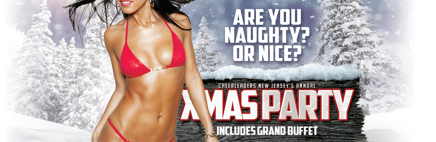 Xmas Party at Cheerleaders New Jersey