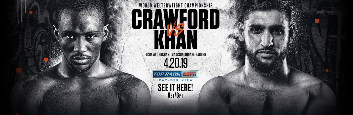 Crawford vs Khan at Cheerleaders New Jersey