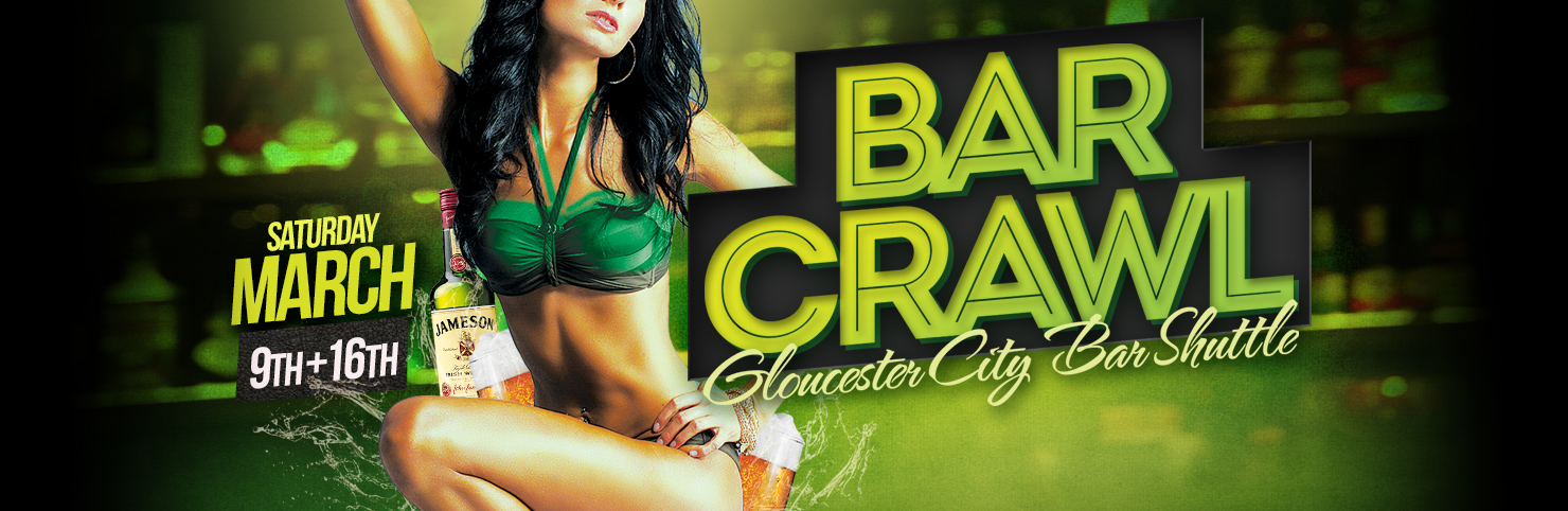 Gloucester City Bar Crawl at Cheerleaders New Jersey