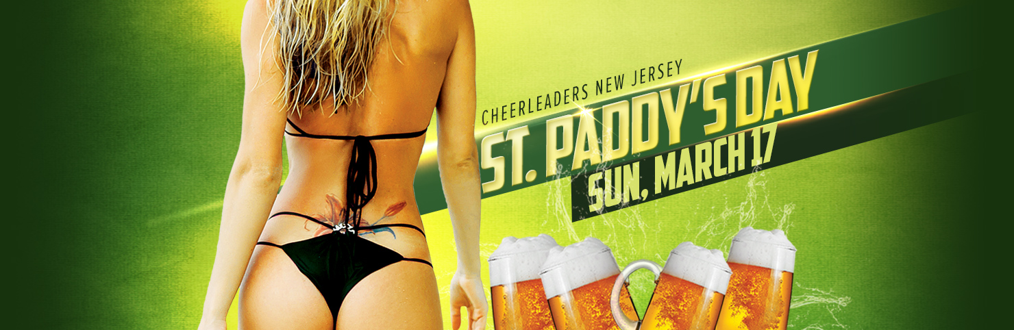 St Paddy's Day at Cheerleaders New Jersey