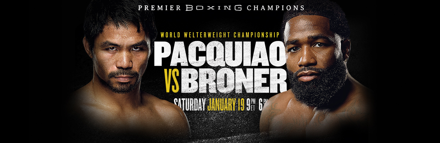 Pacquiao vs Broner at Cheerleaders New Jersey