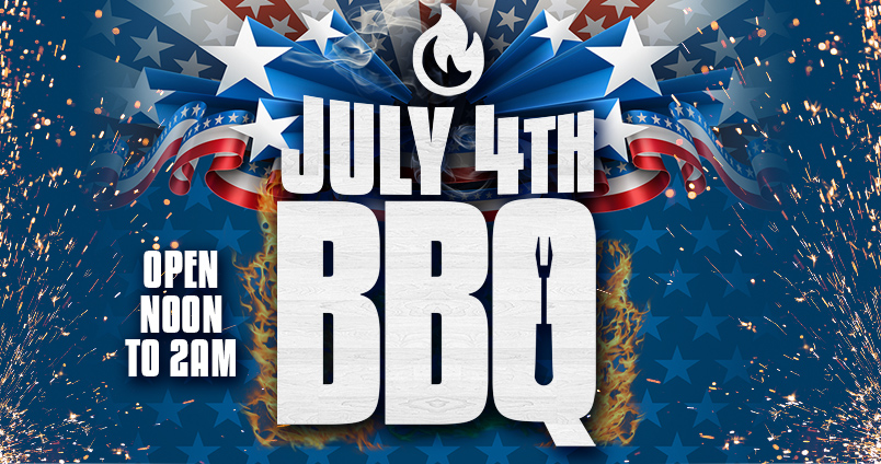 July 4th BBQ at Cheerleaders Club