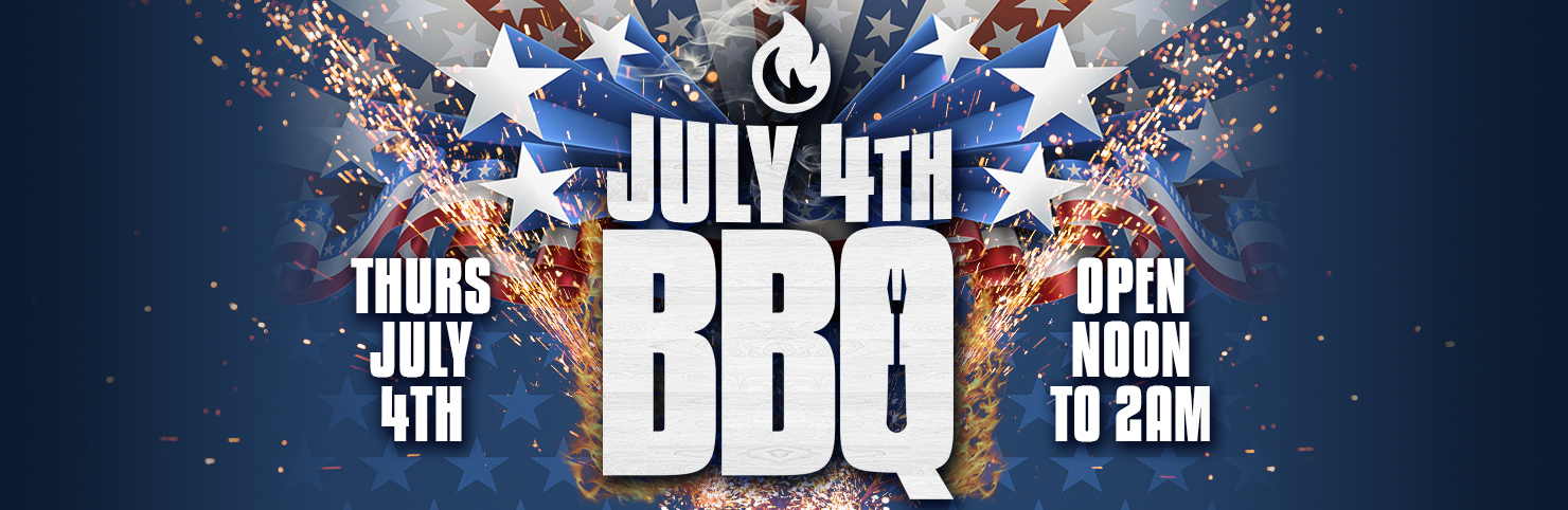 July 4th BBQ at Cheerleaders New Jersey