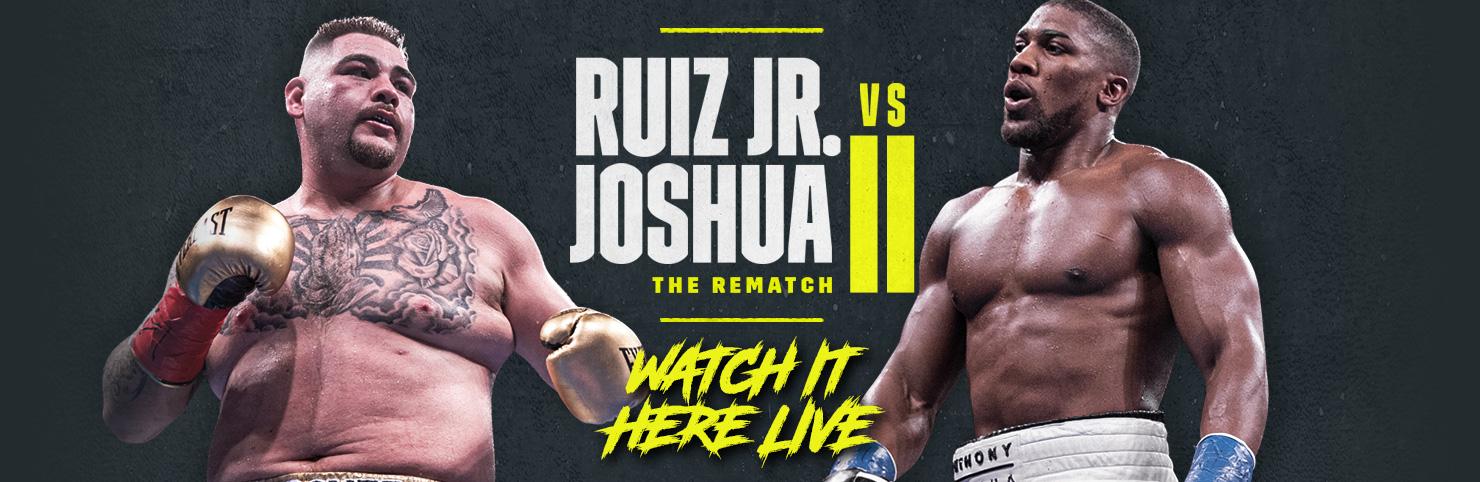 Ruiz v Joshua 2 at Cheerleaders New Jersey