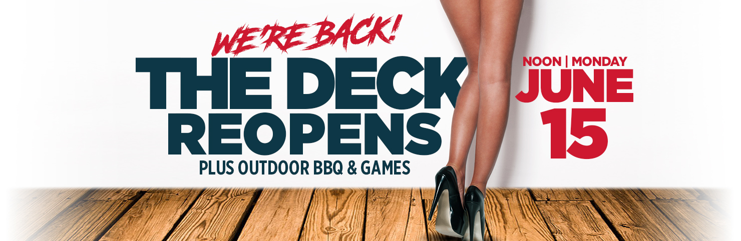 Deck Reopening at Cheerleaders New Jersey