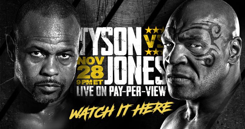 Tyson vs Jones at Cheerleaders Club