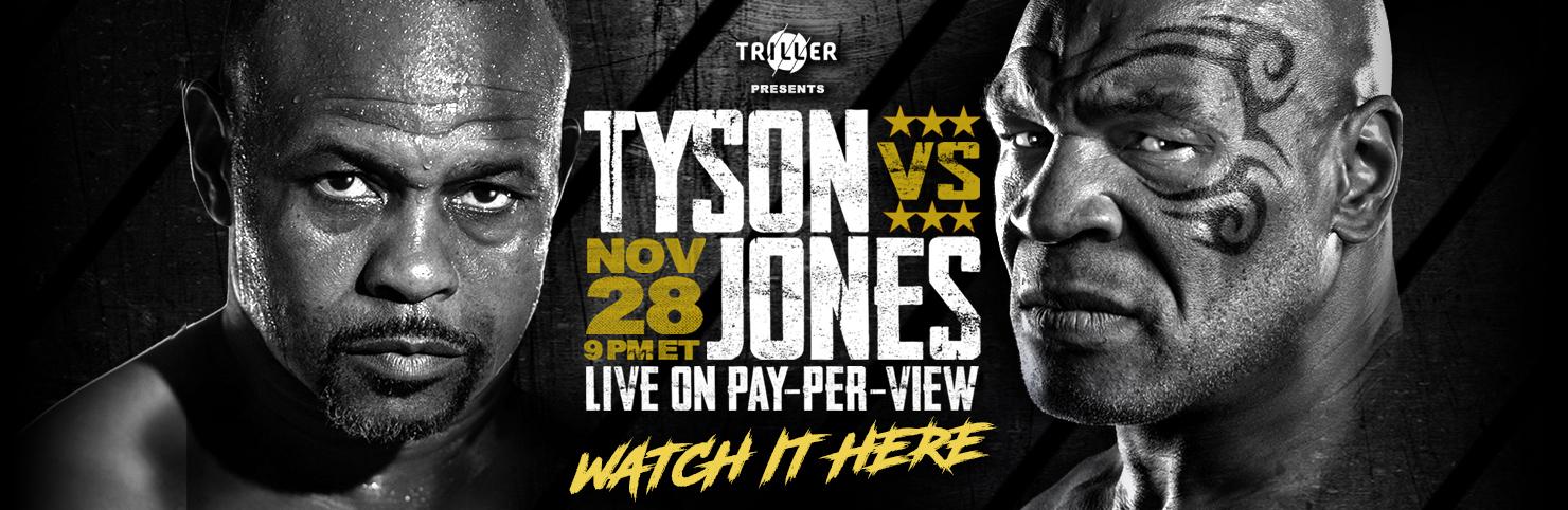 Tyson vs Jones at Cheerleaders New Jersey