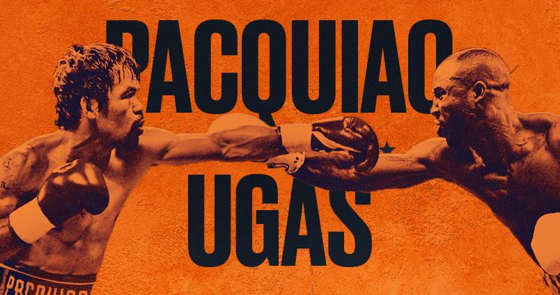 Pacquiao vs Ugas at Cheerleaders Club